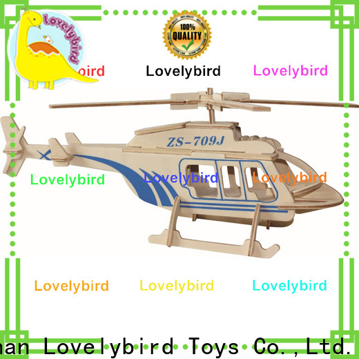Lovelybird Toys new 3d wooden puzzle car factory for business