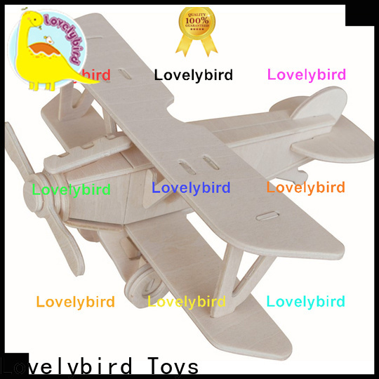 latest 3d airplane puzzle supply for present