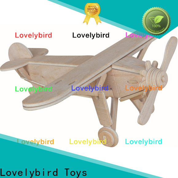 custom 3d airplane puzzle supply for kids