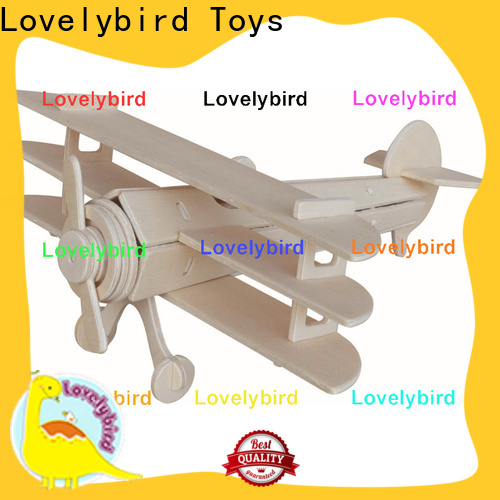 high-quality 3d wooden puzzle car manufacturers for kids