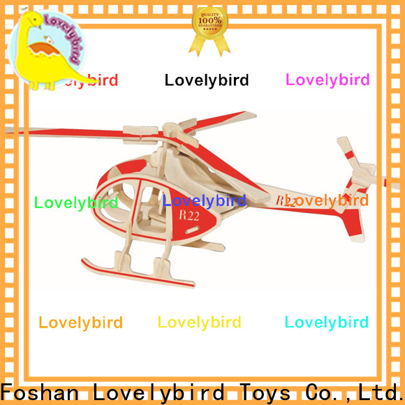 Lovelybird Toys high-quality 3d wooden car puzzle company for sale