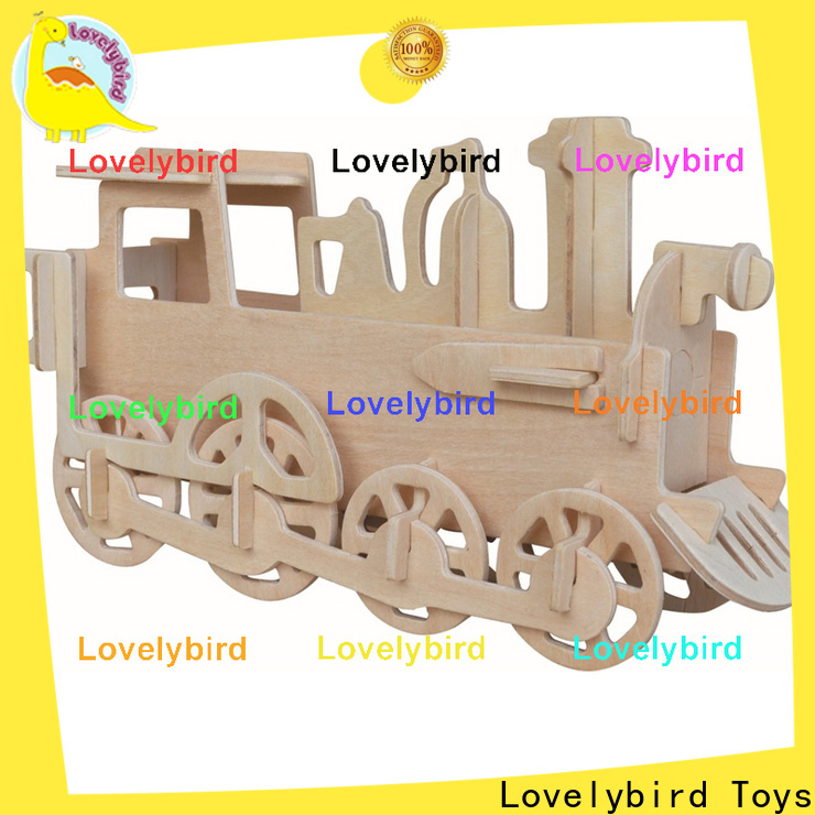 Lovelybird Toys 3d airplane puzzle company for business