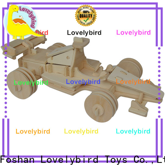 Lovelybird Toys top 3d wooden puzzle car company for kids