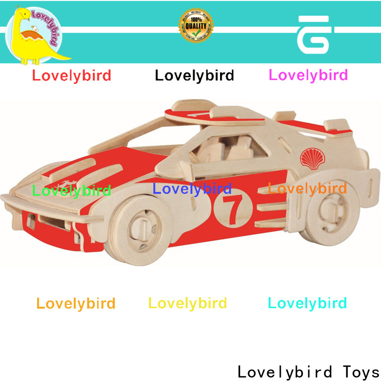 Lovelybird Toys high-quality 3d airplane puzzle supply for present