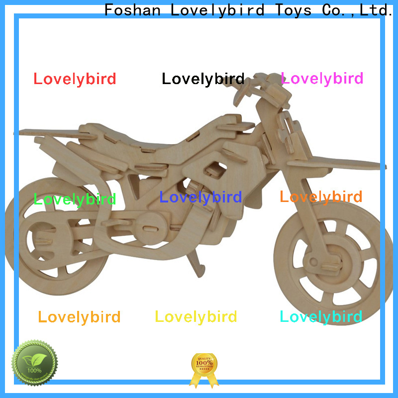 Lovelybird Toys best 3d wooden puzzle ship factory for sale