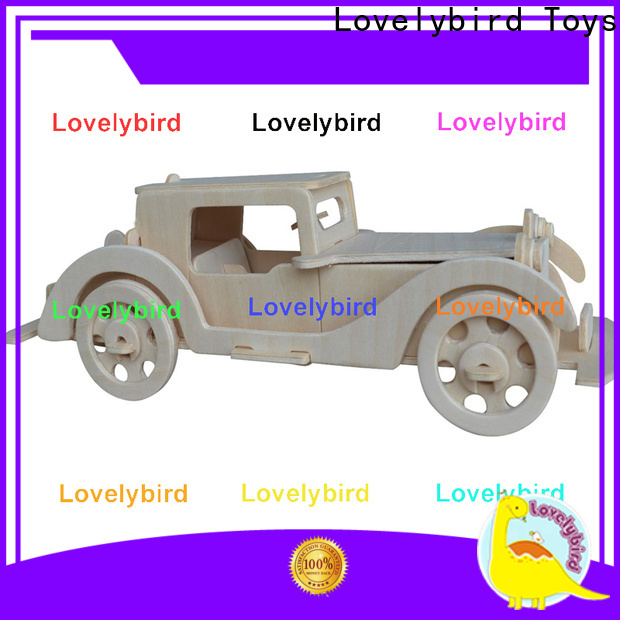 Lovelybird Toys custom 3d wooden puzzle ship manufacturers for adults
