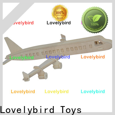 Lovelybird Toys 3d airplane puzzle supply for business