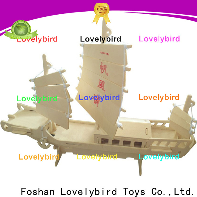 high-quality 3d airplane puzzle company for entertainment