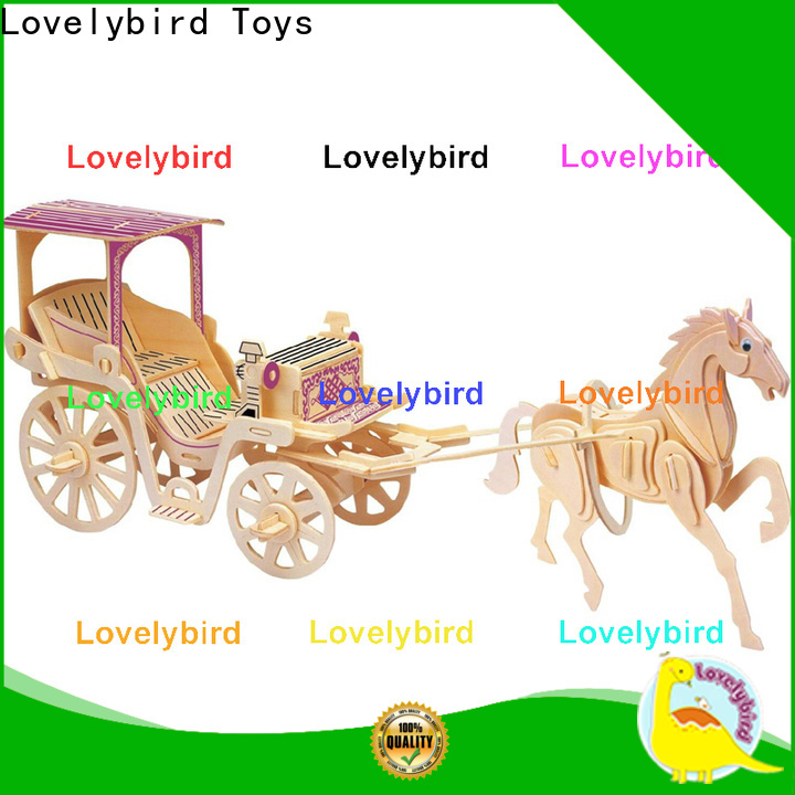 Lovelybird Toys custom 3d airplane puzzle suppliers for entertainment