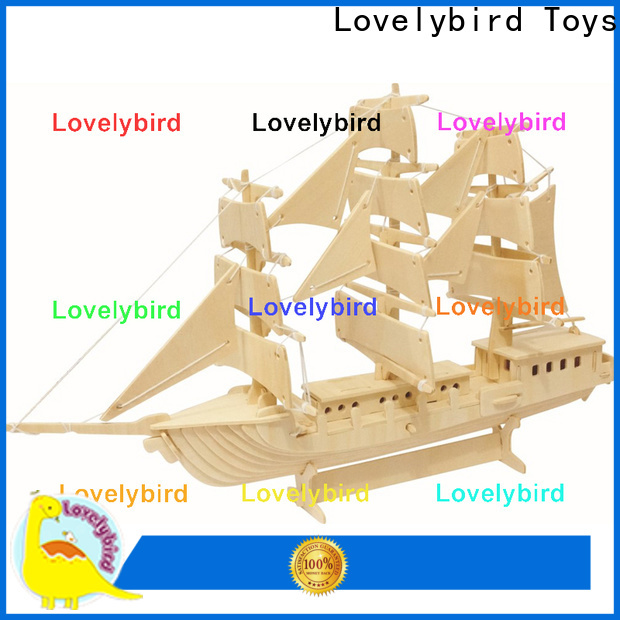 Lovelybird Toys latest 3d wooden puzzle car company for kids