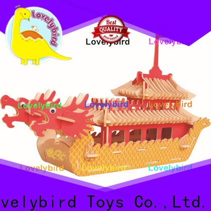 Lovelybird Toys 3d airplane puzzle manufacturers for sale