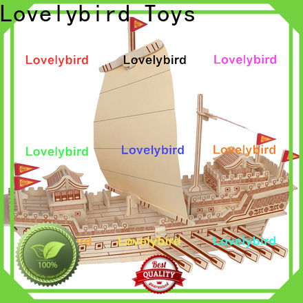 latest 3d wooden puzzle ship factory for kids