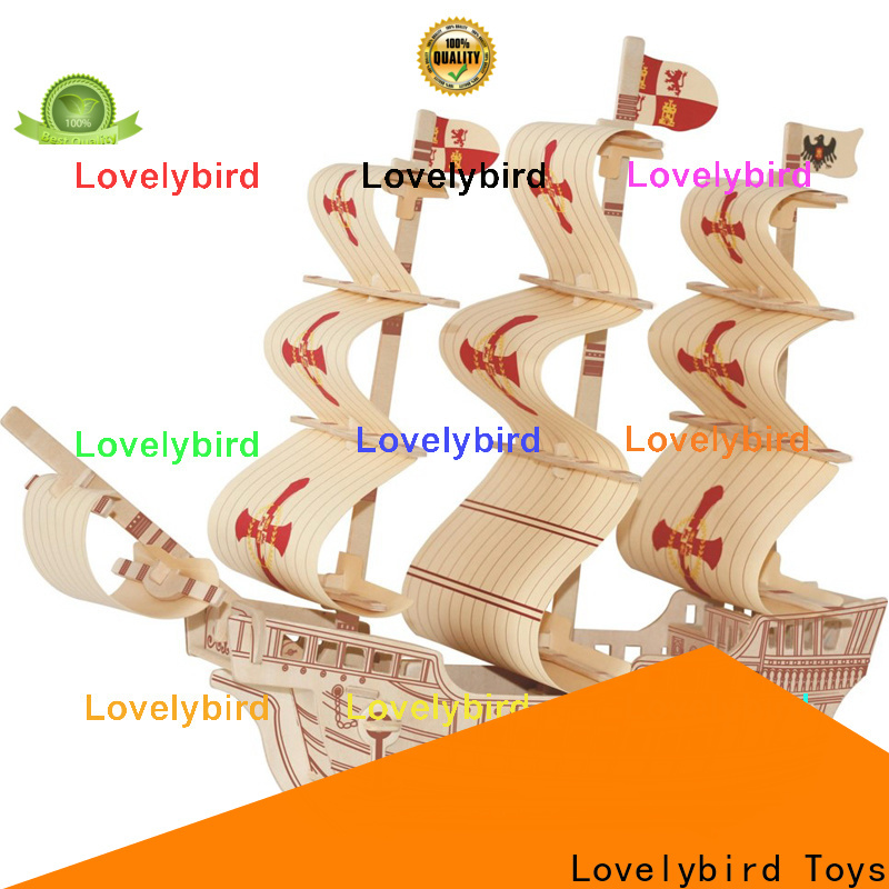Lovelybird Toys wholesale 3d airplane puzzle supply for entertainment