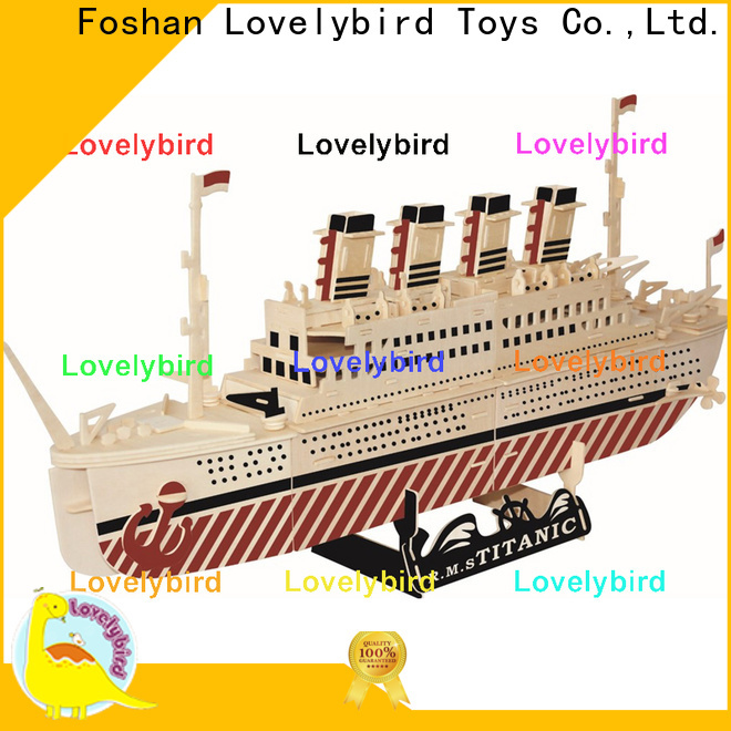Lovelybird Toys latest 3d airplane puzzle supply for adults