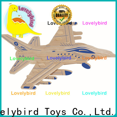 Lovelybird Toys best 3d puzzle military factory for kids