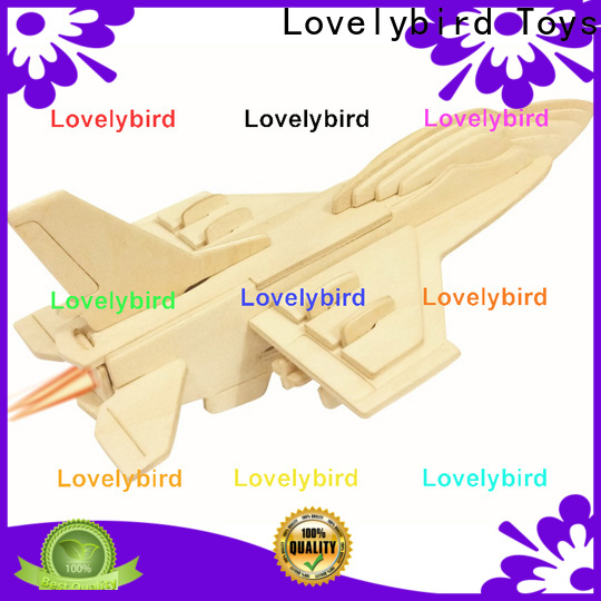Lovelybird Toys wholesale 3d puzzle military supply for sale