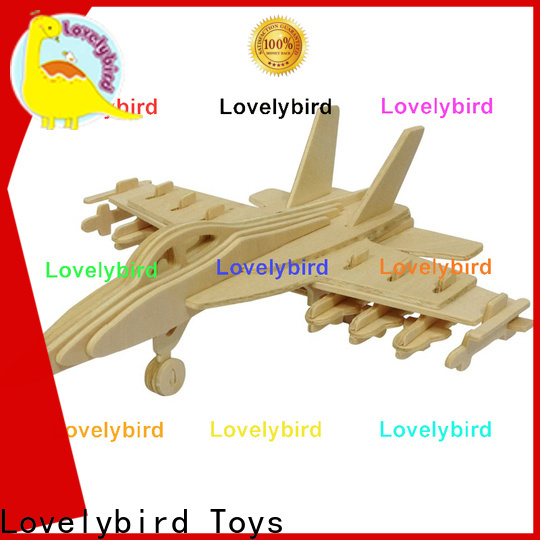 Lovelybird Toys custom 3d puzzle military suppliers for sale