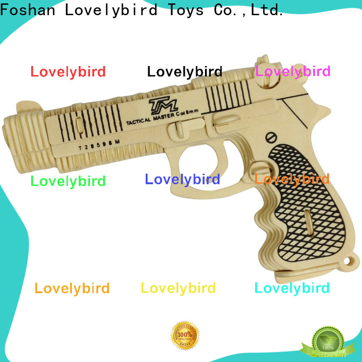 Lovelybird Toys custom 3d puzzle military suppliers for present