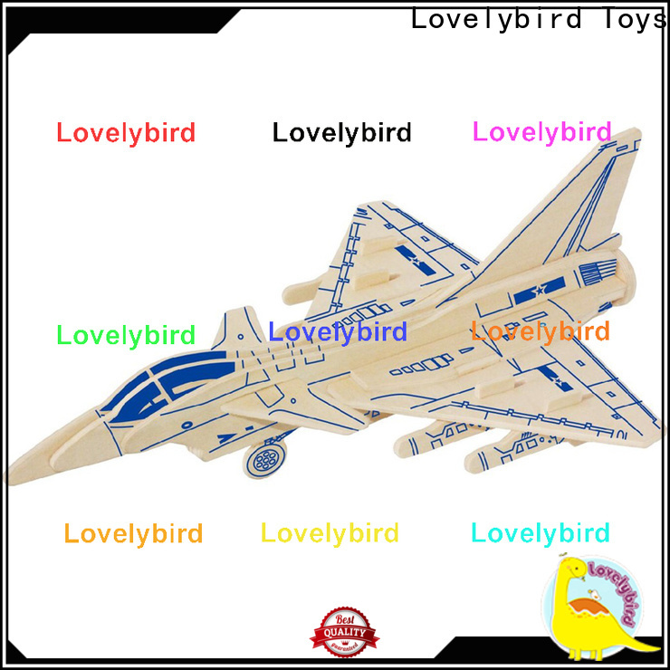 Lovelybird Toys custom 3d puzzle military manufacturers for sale