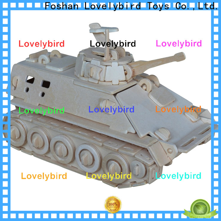 Lovelybird Toys high-quality 3d puzzle military manufacturers for sale