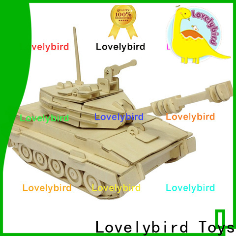 Lovelybird Toys high-quality 3d puzzle military supply for kids