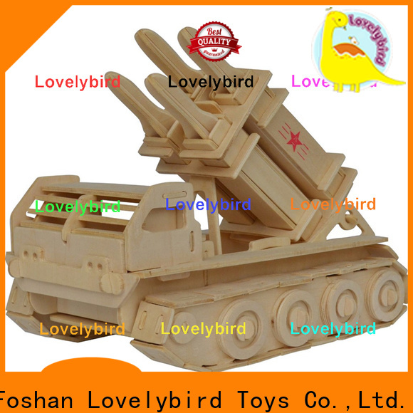 Lovelybird Toys 3d puzzle military supply for kids