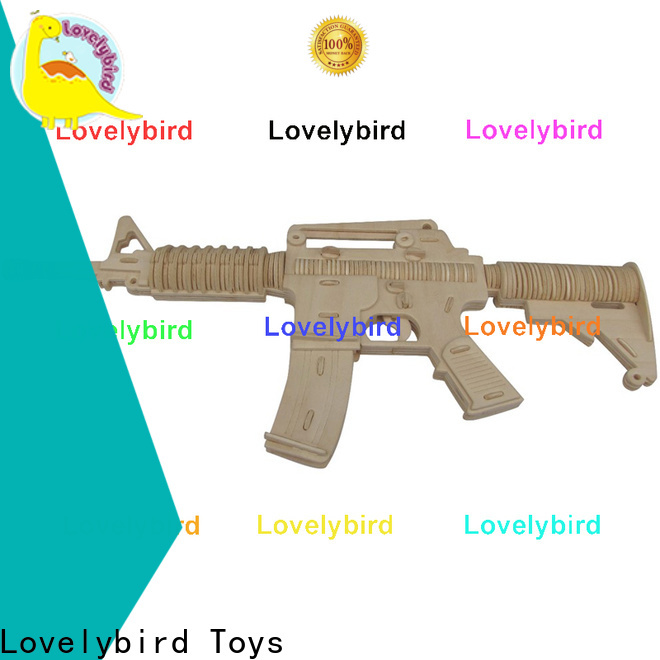 Lovelybird Toys wholesale 3d puzzle military supply for entertainment