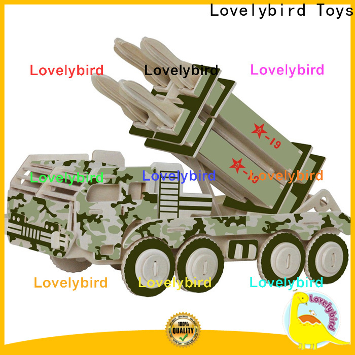 Lovelybird Toys wholesale 3d puzzle military manufacturers for business