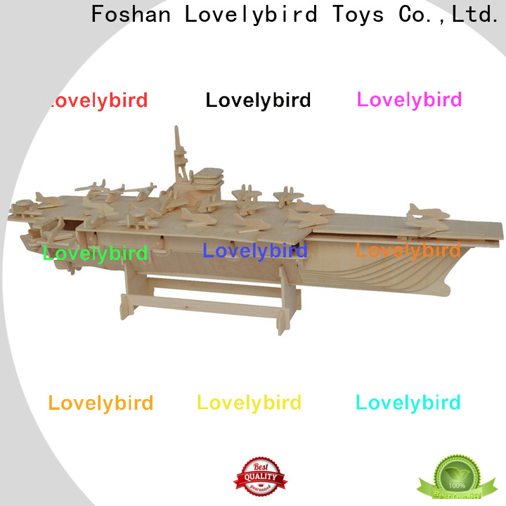 Lovelybird Toys 3d puzzle military company for business
