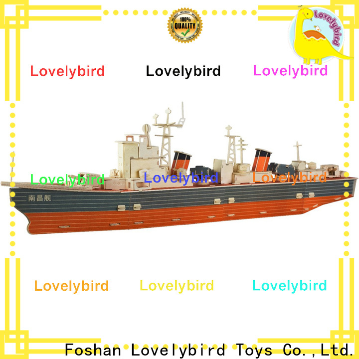 Lovelybird Toys 3d puzzle military factory for adults