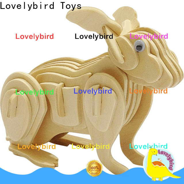Lovelybird Toys wooden 3d animal puzzles suppliers for business