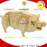 high-quality 3d wooden puzzle animals supply for business
