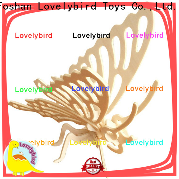 Lovelybird Toys latest wooden 3d animal puzzles manufacturers for sale