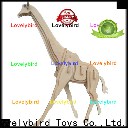 Lovelybird Toys 3d wooden animal puzzle company for adults