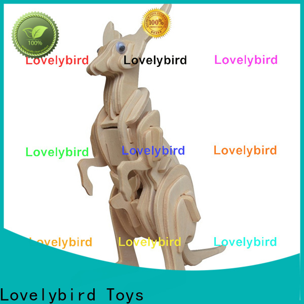 Lovelybird Toys 3d wooden puzzle animals company for adults