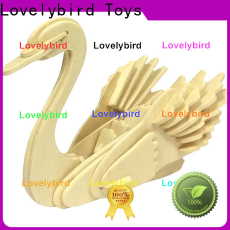 Lovelybird Toys 3d wooden animal puzzle manufacturers for sale
