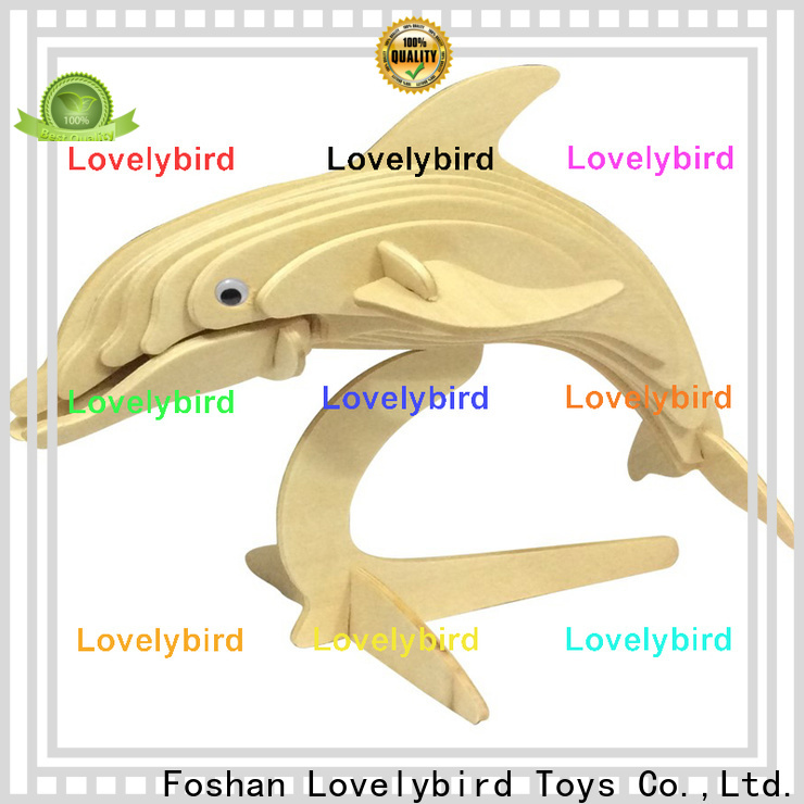 Lovelybird Toys top wooden 3d animal puzzles factory for kids