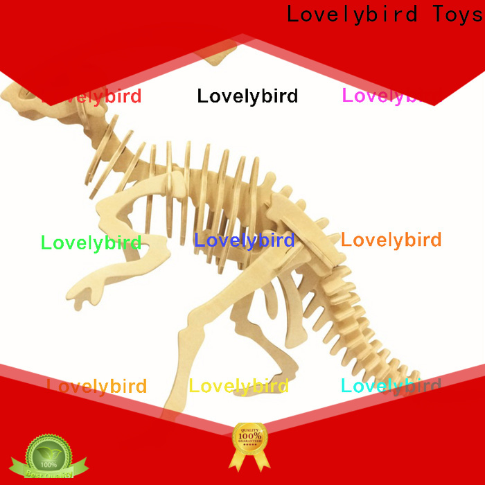 Lovelybird Toys 3d wooden animal puzzle factory for entertainment