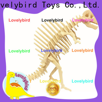 Lovelybird Toys fast delivery 3d wooden animal puzzle suppliers for adults