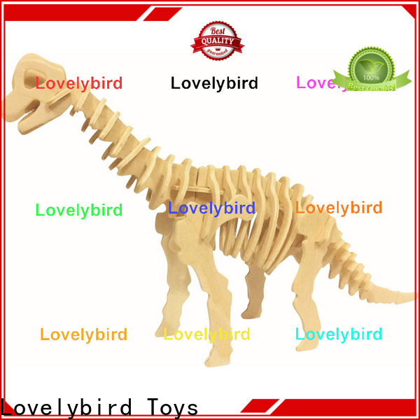 Lovelybird Toys wooden 3d animal puzzles company for present