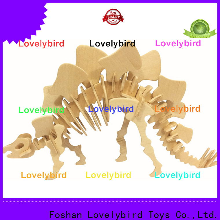 Lovelybird Toys 3d wooden puzzle animals manufacturers for present