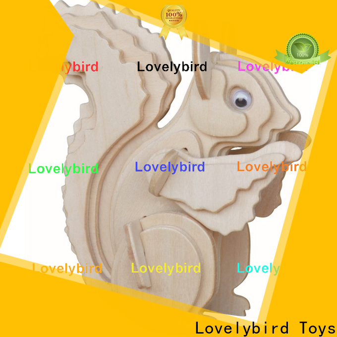 Lovelybird Toys custom wooden 3d animal puzzles factory for business
