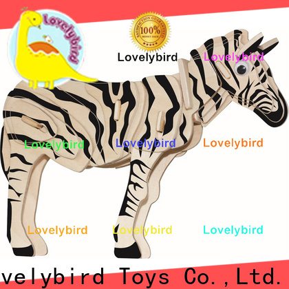 Lovelybird Toys new 3d wooden puzzle animals company for entertainment
