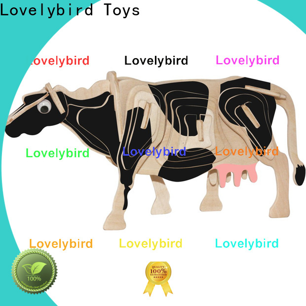Lovelybird Toys 3d wooden puzzle animals suppliers for entertainment
