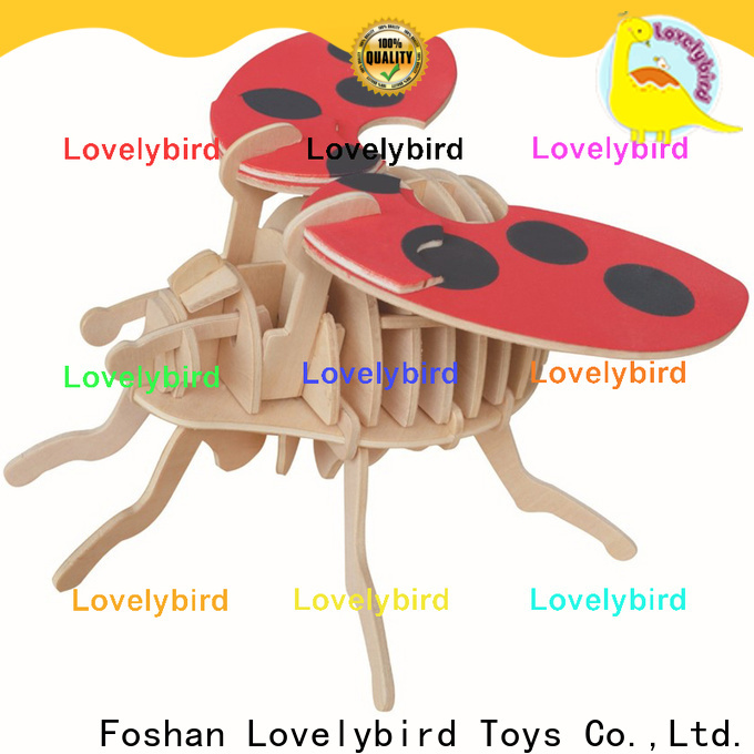 Lovelybird Toys 3d wooden animal puzzle manufacturers for adults