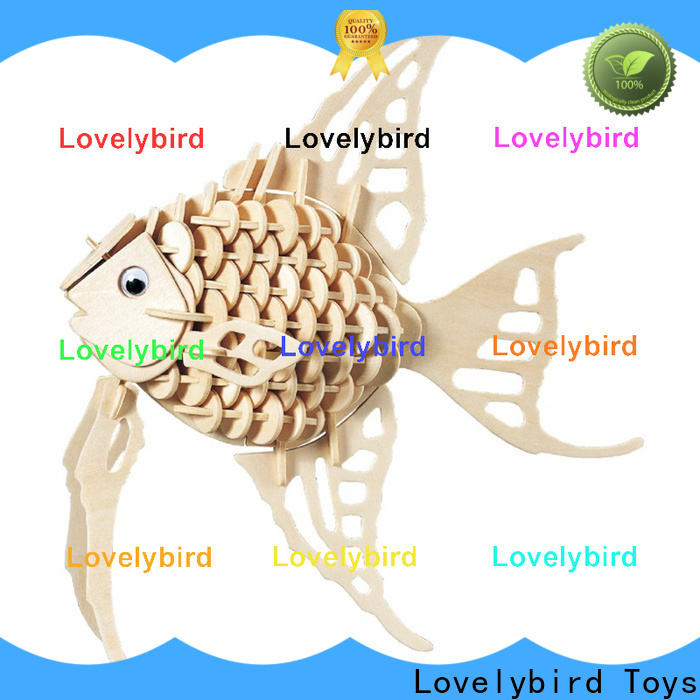 Lovelybird Toys latest wooden 3d animal puzzles suppliers for adults