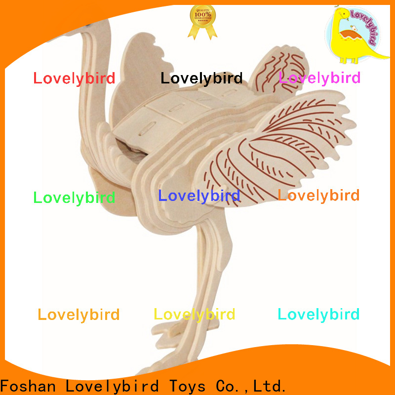 Lovelybird Toys 3d wooden puzzle animals manufacturers for kids