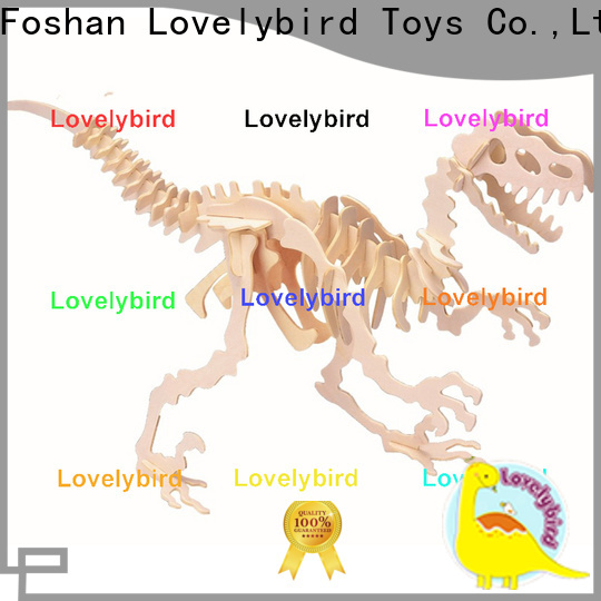 Lovelybird Toys latest 3d wooden animal puzzle suppliers for business