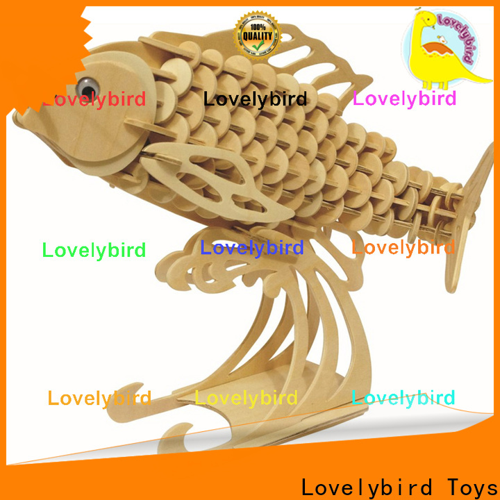 Lovelybird Toys wooden 3d animal puzzles company for entertainment