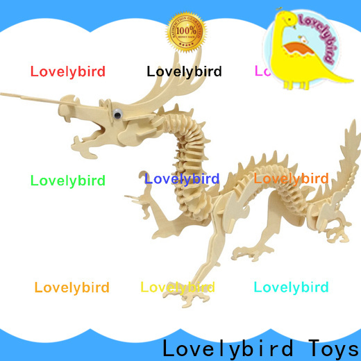 wholesale wooden 3d animal puzzles factory for sale